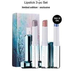 fenty beauty snow nights lipstick set